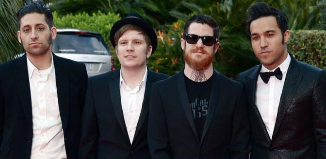 Fall Out Boy en los World Music Awards2014