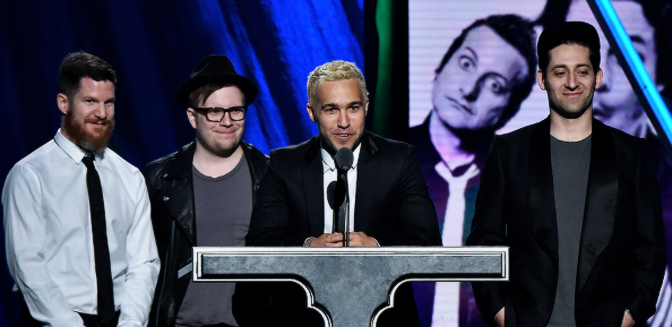 Discurso de Fall Out Boy sobre Green Day para el Rock and Roll Hall of Fame. | Traducido
