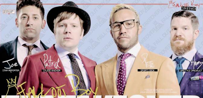 Adelanto de la entrevista a Fall Out Boy en Kerrang!: Un merecidodescanso