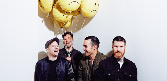 Fall Out Boy estará por Europa a principios de 2018