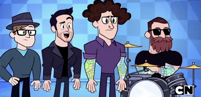 Fall Out Boy en Teen Titans Go!